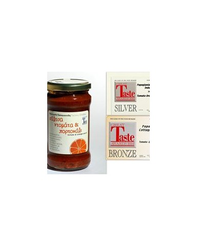 "Tomato & Orange Sauce ""PAPAYIANNIDES"" (380gr)"