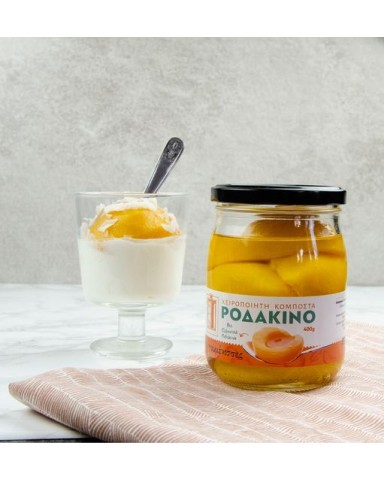 "Compote Peach""Goumenisses"" 580gr"