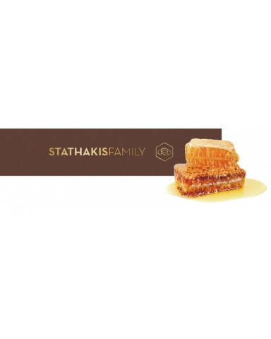 "Cretan Thyme Honey with Cretan herbs and plants,   ""Stathakis Family"" 450gr"