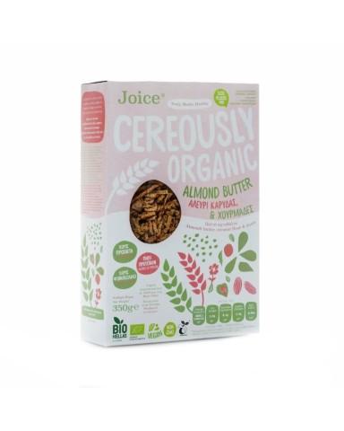 "Cereously Healthy Δημητριακά Almond Butter, Αλεύρι Καρύδας και Χουρμάδες  ""Joice"" 350gr"