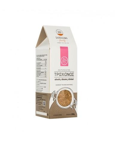 """Handmade Trahanas with Dinkel wholemeal flour  """"Dardouma Family """" 300gr"""