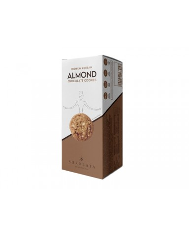 Almond Chocolates Cookies, Agapitos 160gr