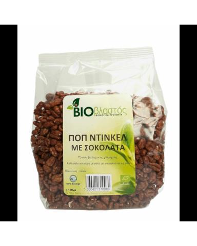 """ΒΙΟ Ποπ Ντίνκελ με Σοκολάτα  """"BIOβλαστός"""" 150gr"""