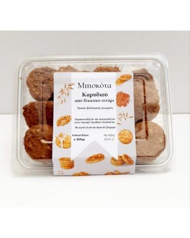 """Organic Walnut Cookies  """"BIOVLASTOS"""" 250gr"""