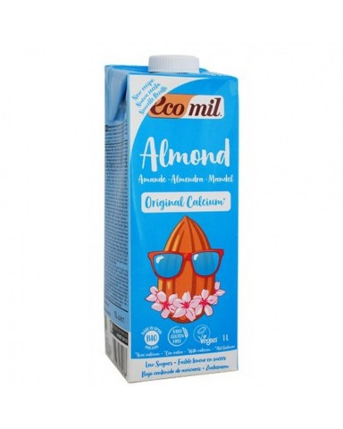 """Bio Almond Drink with Calcium and Agave """"BIOVLASTOS"""" 1lt"""