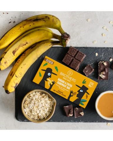 "Banana & Cocoa Handmade Bar ""Brothers Raw Bar"" 60gr"