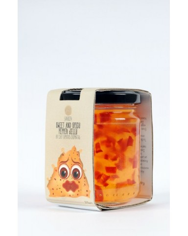 Sweet & Spicy Pepper Jelly, SPAROZA  220gr