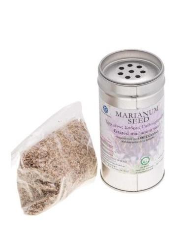 """Τριμμένος Σπόρος Γαϊδουράγκαθου """"Marianum Seed """" 57gr"""