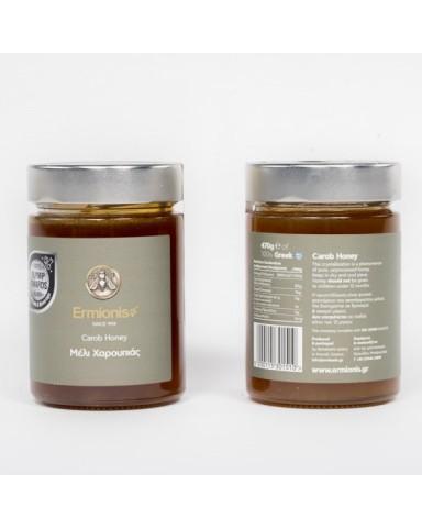 """Μέλι Χαρουπιάς """"Ermionis """" 470 gr"""