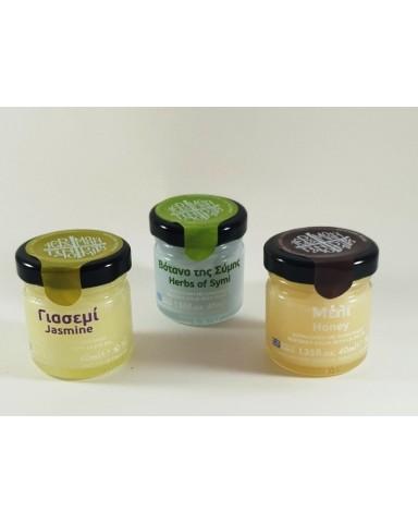 Κεραλοιφή με Ελαιόλαδο και Βότανα από τη Σύμη  (40 ml)