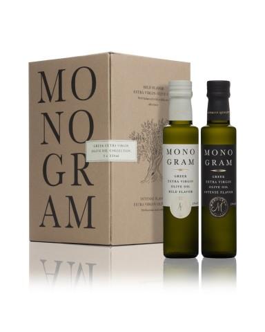 "Mild Flavor- Extra Virgin Olive Oil, "" Monogram"", 250ml"