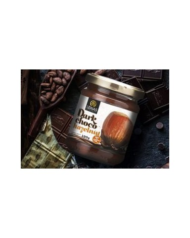 "Dark chocolate spread with hazelnut, ""Lena's Gourmet""190gr"