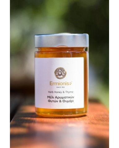 "Herb honey with thyme  ""Ermionis"" 250gr"
